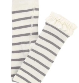 Ruffle Butts Stripe Footless Tights 6/12, 12/24M
