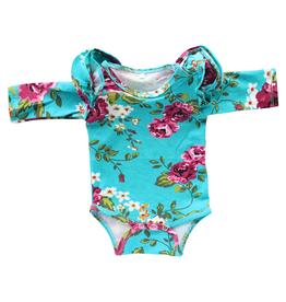Mila & Rose Flutter Bodysuit 0/3M