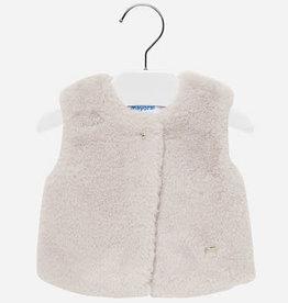 Mayoral Fur Vest 12M
