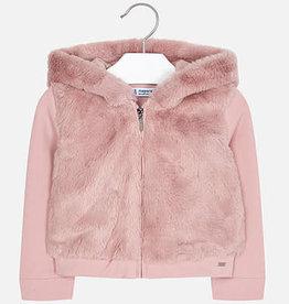 Mayoral Faux Fur Jacket 3T