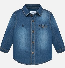 Mayoral Denim Shirt 6M, 9M