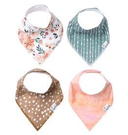 Copper Pearl Bandana Bibs Set Autumn