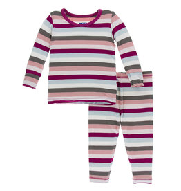 Kickee Pants Pajama Set  4T