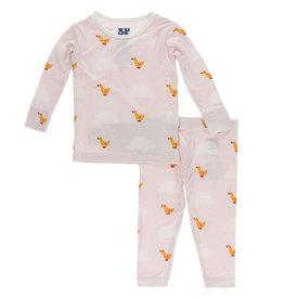 Kickee Pants Pajama Set 18/24M