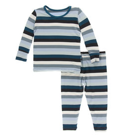 Kickee Pants Pajama Set 2T, 3T
