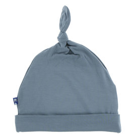 Kickee Pants Knot Hat Dusty Sky NB, 3/12M