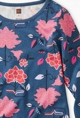 Tea Collection Printed Dress Tibetan Floral 8