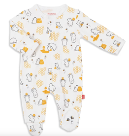 Honey Bee Footie Preemie