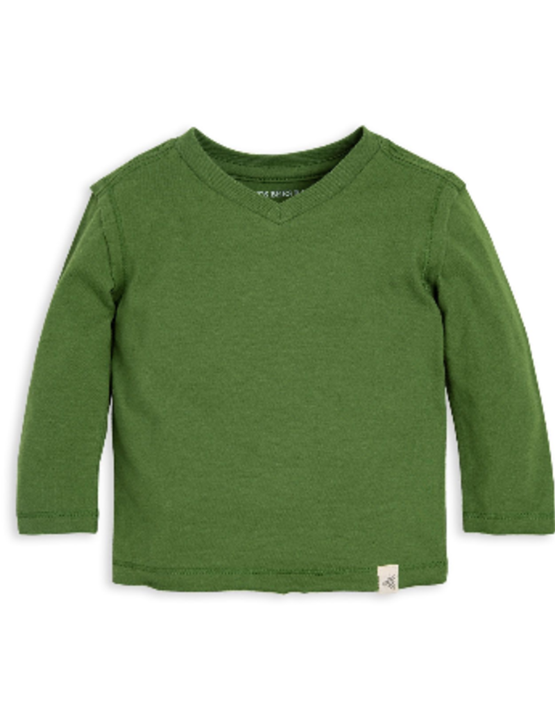 Burt's Bees Basic High V Tee Hummingbird 0/3-6/9M