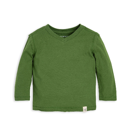 Burt's Bees Basic High V Tee 12M-24M