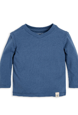 Burt's Bees Basic High V Tee Blue Creek 0/3-6/9M