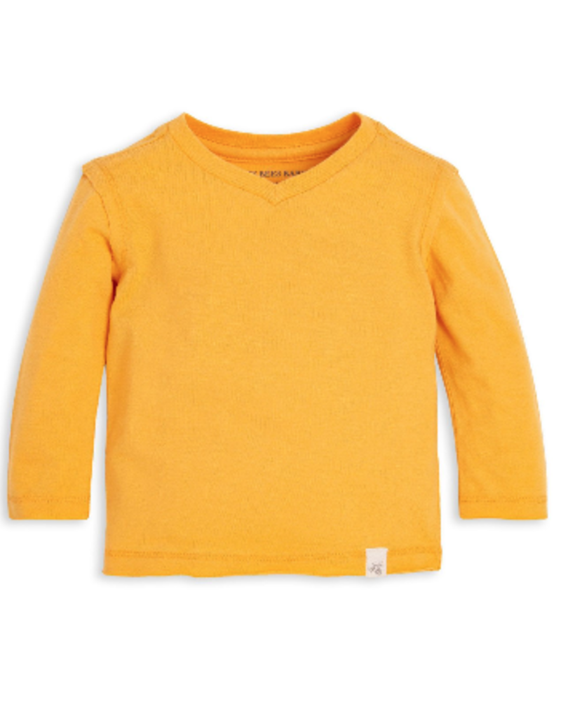 Burt's Bees Basic High V Tee Beeswax