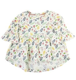 Ruffle Butts Floral Bella Top 2-4T