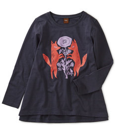 Tea Collection Graphic Twirl Top 2-4T