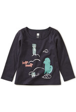 Animal Clouds Graphic Tee 6/9M