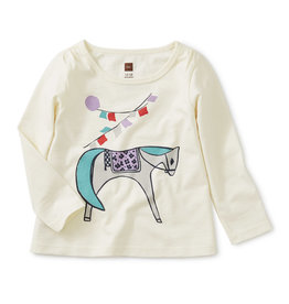 Tea Collection Equine Graphic Tee 12/18M