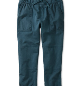 Tea Collection Bedford Blue Patch Pocket Joggers  2T