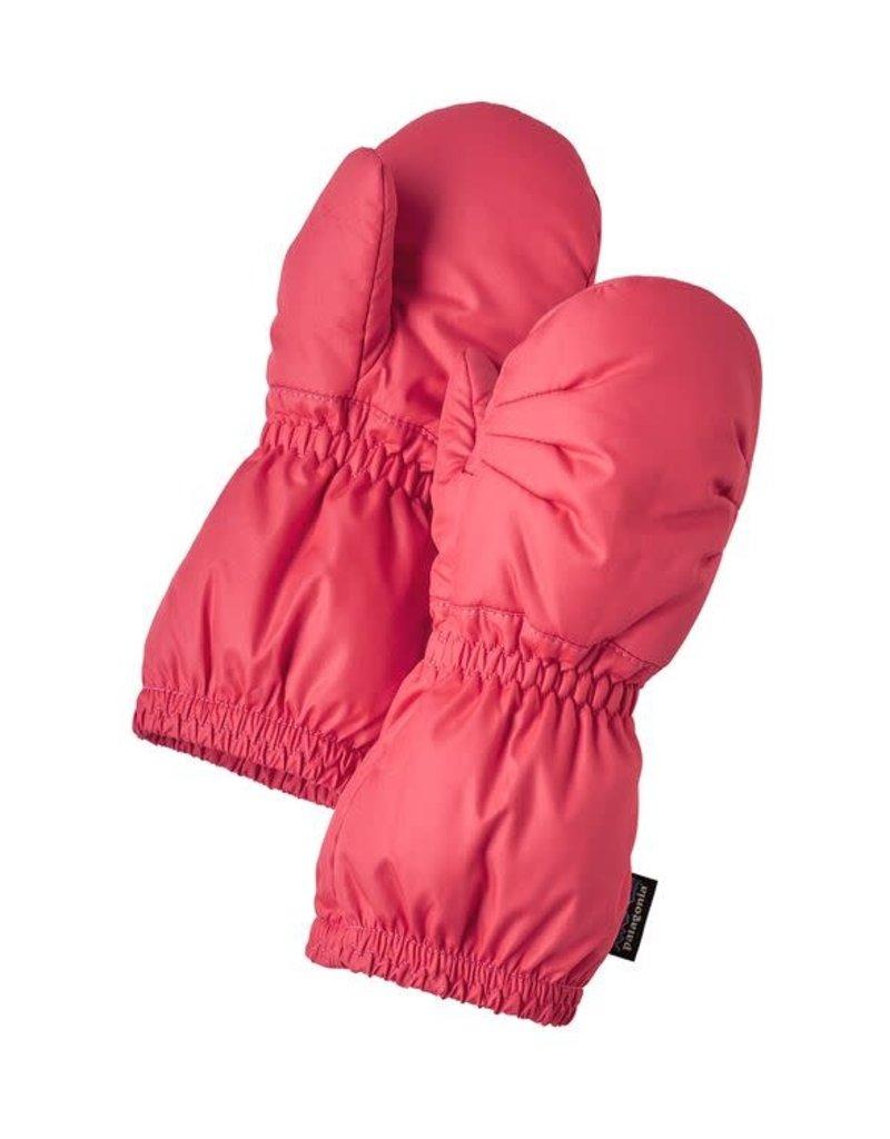 Baby Puff Mitts Range Pink 12M