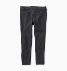 Tea Collection Indigo Ribbed Moto Pants 5
