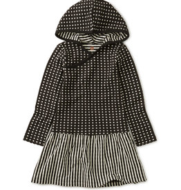 Tea Collection Double Knit Hoodie Dress 12