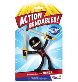 Toysmith Action Bendable Ninja