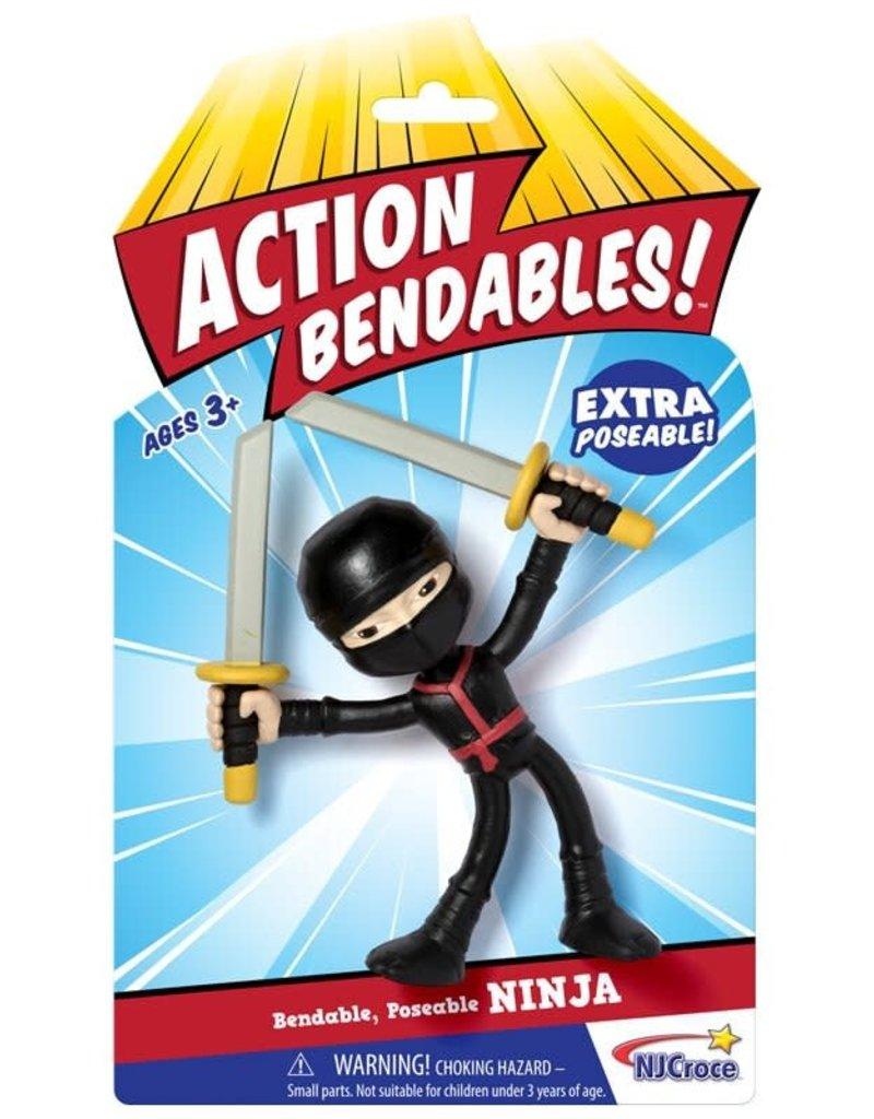 Toysmith Action Bendable Ninja