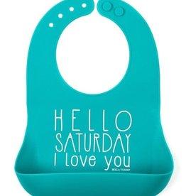 Bella Tunno Wonder Bib Hello Saturday