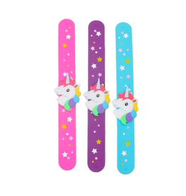 Toysmith Assorted Unicorn Slap Bracelet