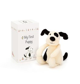 Jellycat Baby's First Photo Cards-Puppy
