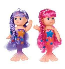Toysmith Assorted Bathtime Mermaid Doll