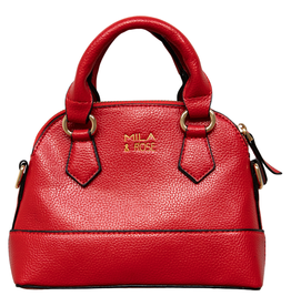 Mila & Rose Purse Red