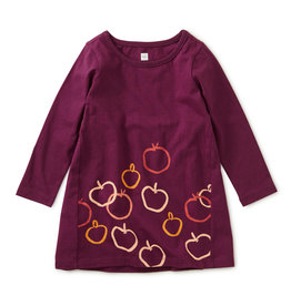 Tea Collection Golden Apples Dress 9/12M