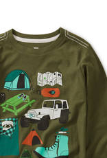 Tea Collection Camp Collage Graphic Tee 2, 4