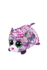 Ty Lilac Sequin Cat Teeny