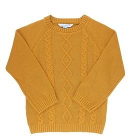 Ruffle Butts Boys Cable Sweater 2-4T