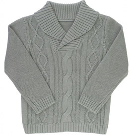Ruffle Butts Cable Knit Sweater 2-4T