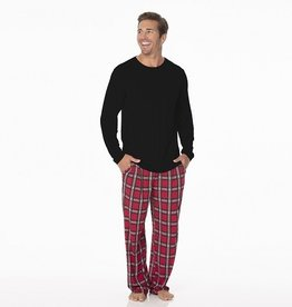 Kickee Pants Men's PJ Set Plaid S-XXL