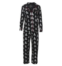 Kickee Pants Women's PJ Set Foil Tree XS-XL