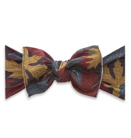 Baby Bling Bow Printed Knot Autumn