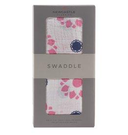 Newcastle Swaddle Primrose & Indigo