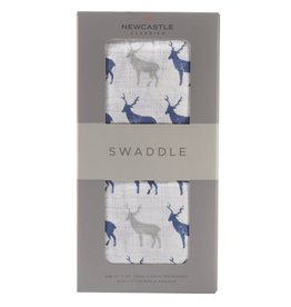 Newcastle Swaddle Blue Deer