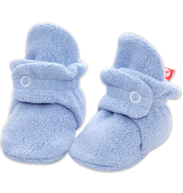 Zutano Fleece Bootie Lt Blue 3M, 6M