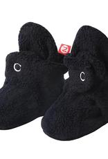 Zutano Fleece Bootie Black 3M, 6M