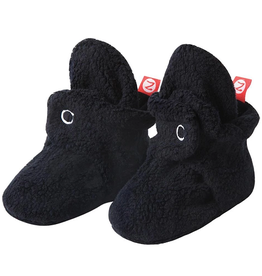 Zutano Fleece Bootie Black 3M, 6M