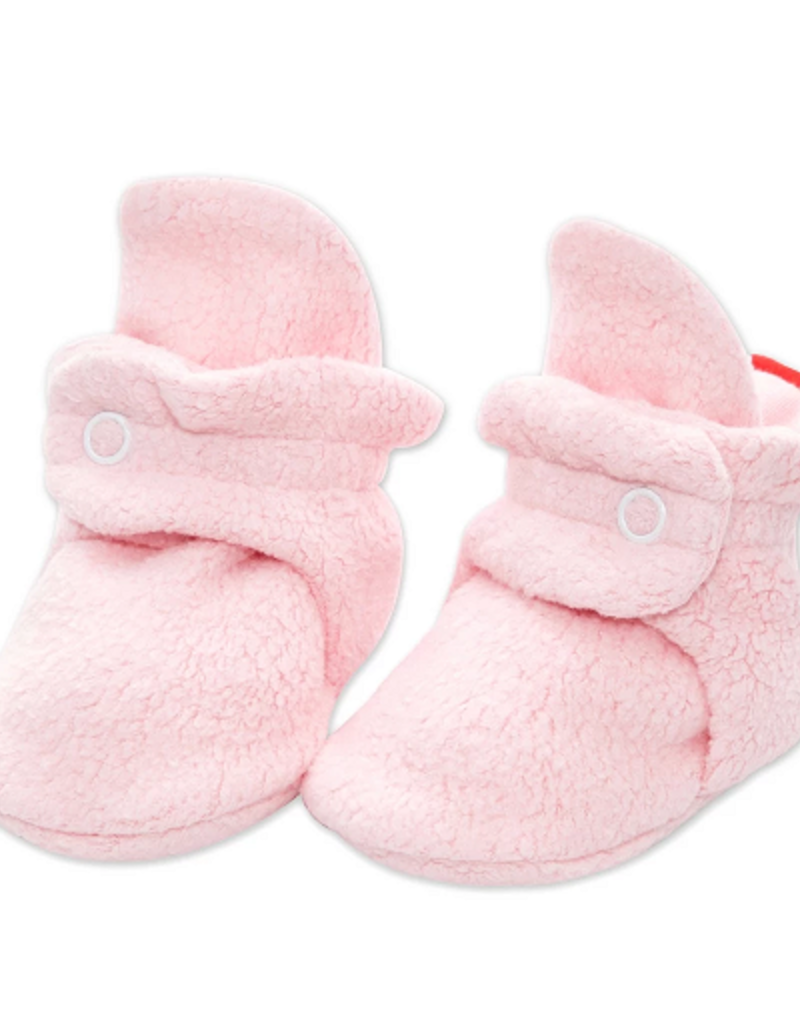 Zutano Fleece Bootie Pink 3M, 6M