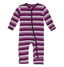 Kickee Pants Coverall w/Zip 18/24M