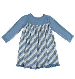 Kickee Pants Swing Dress 6/12M
