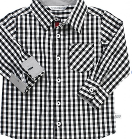 Ruffle Butts Gingham Button Down 2T-3T