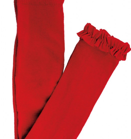 Ruffle Butts Footless Ruffle Tights Red 0/6M, 6/12M