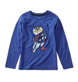 Tea Collection Owl Graphic Tee 2T